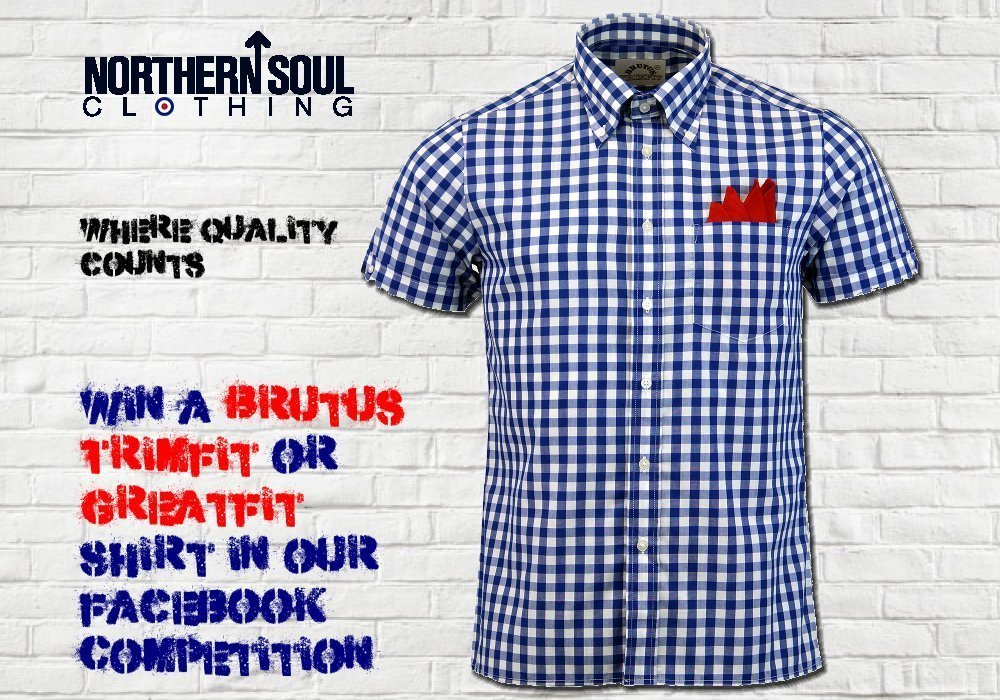 Win a Brutus shirt courtesy of Northern Soul Clothing