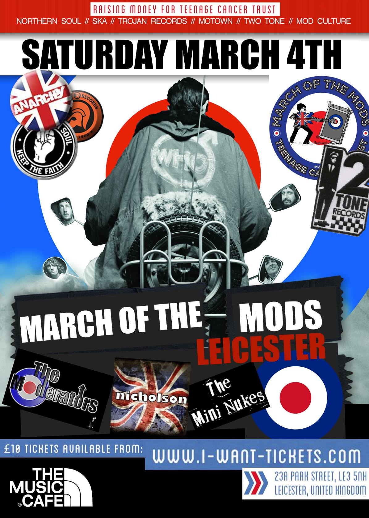 March of the Mods Leicester 2017