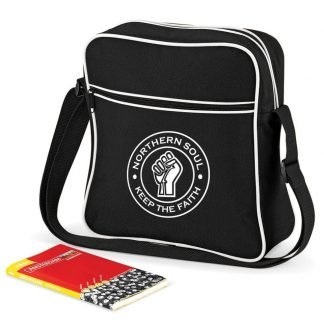Retro Flight Bag - Northern Soul Clothing