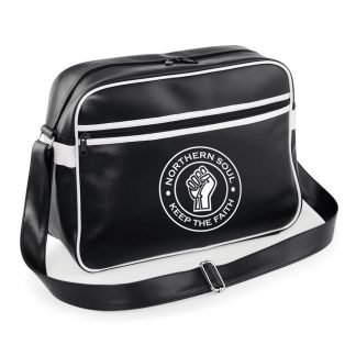 Retro Messenger Bag Northern Soul Clothing