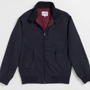 Brutus Harrington Jacket Navy Blue