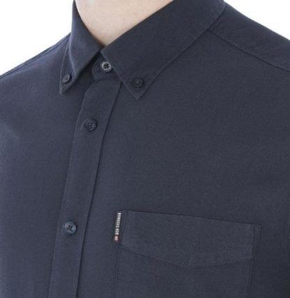 Ben Sherman Long Sleeve Oxford Shirt Regular Fit (Mod Fit)