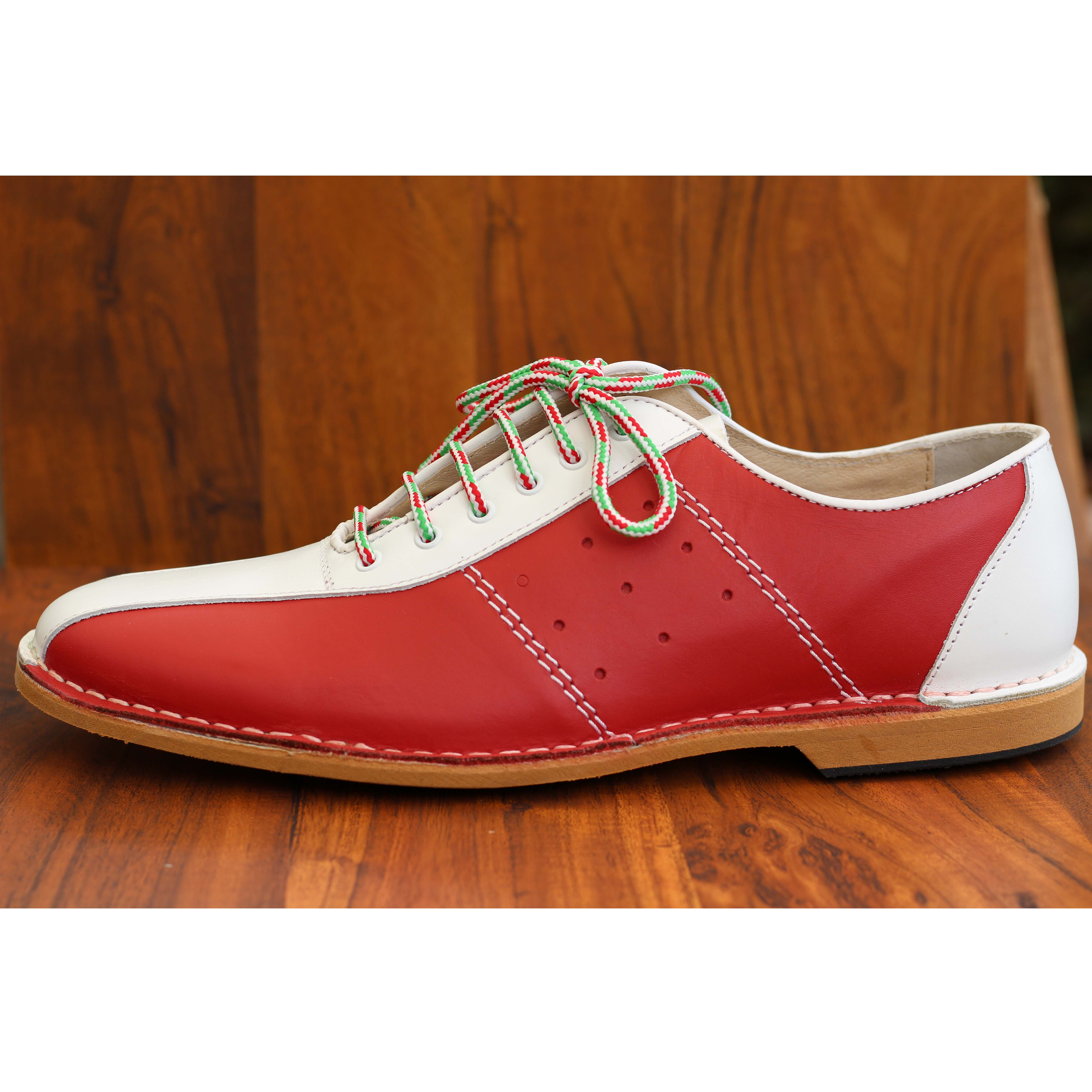 Delicious Junction Watts Bowling Shoe Green Red Mod Northern Soul