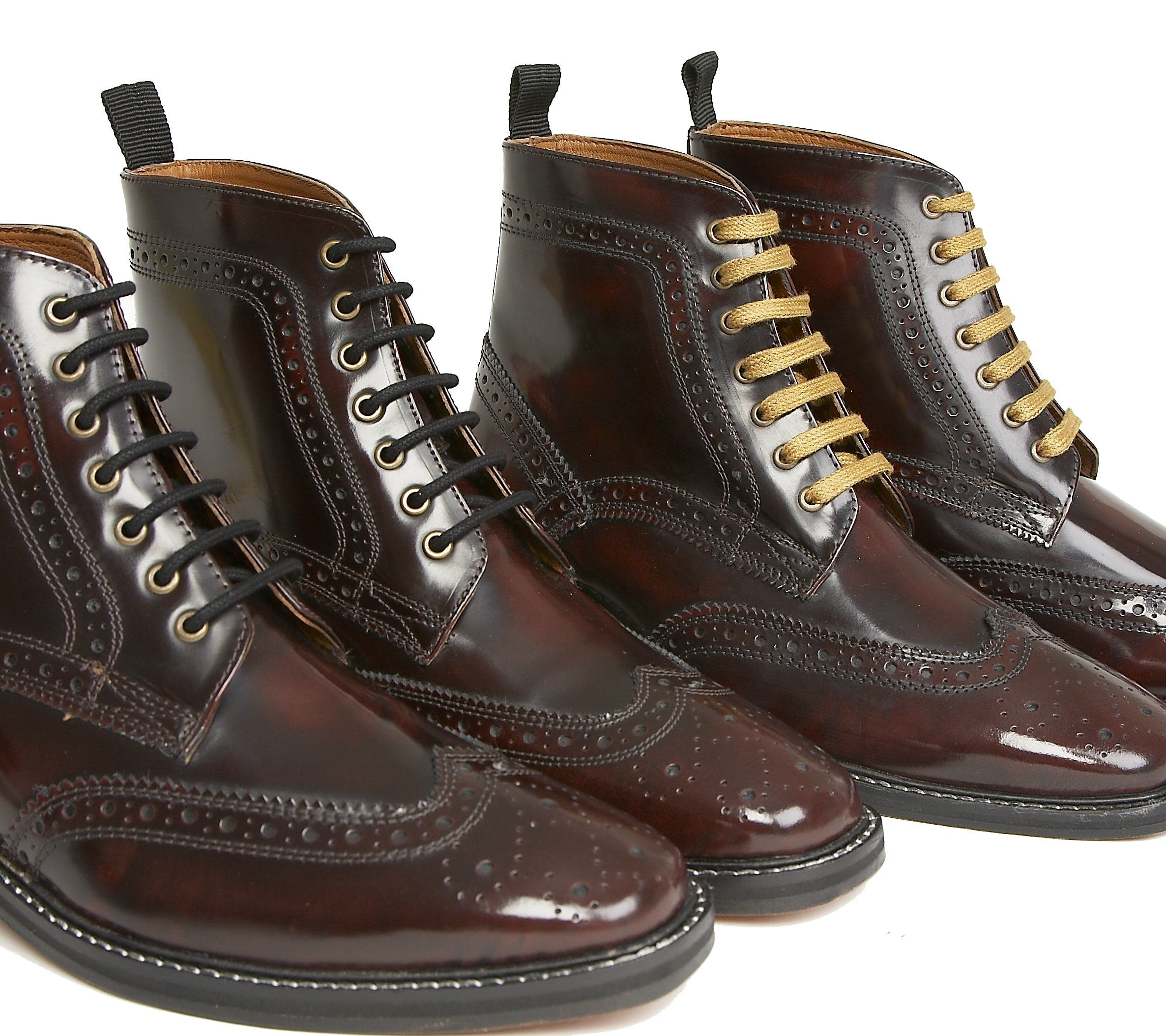 Delicious Junction Landslide Brogue Boot Mod Soul Skinhead Ska