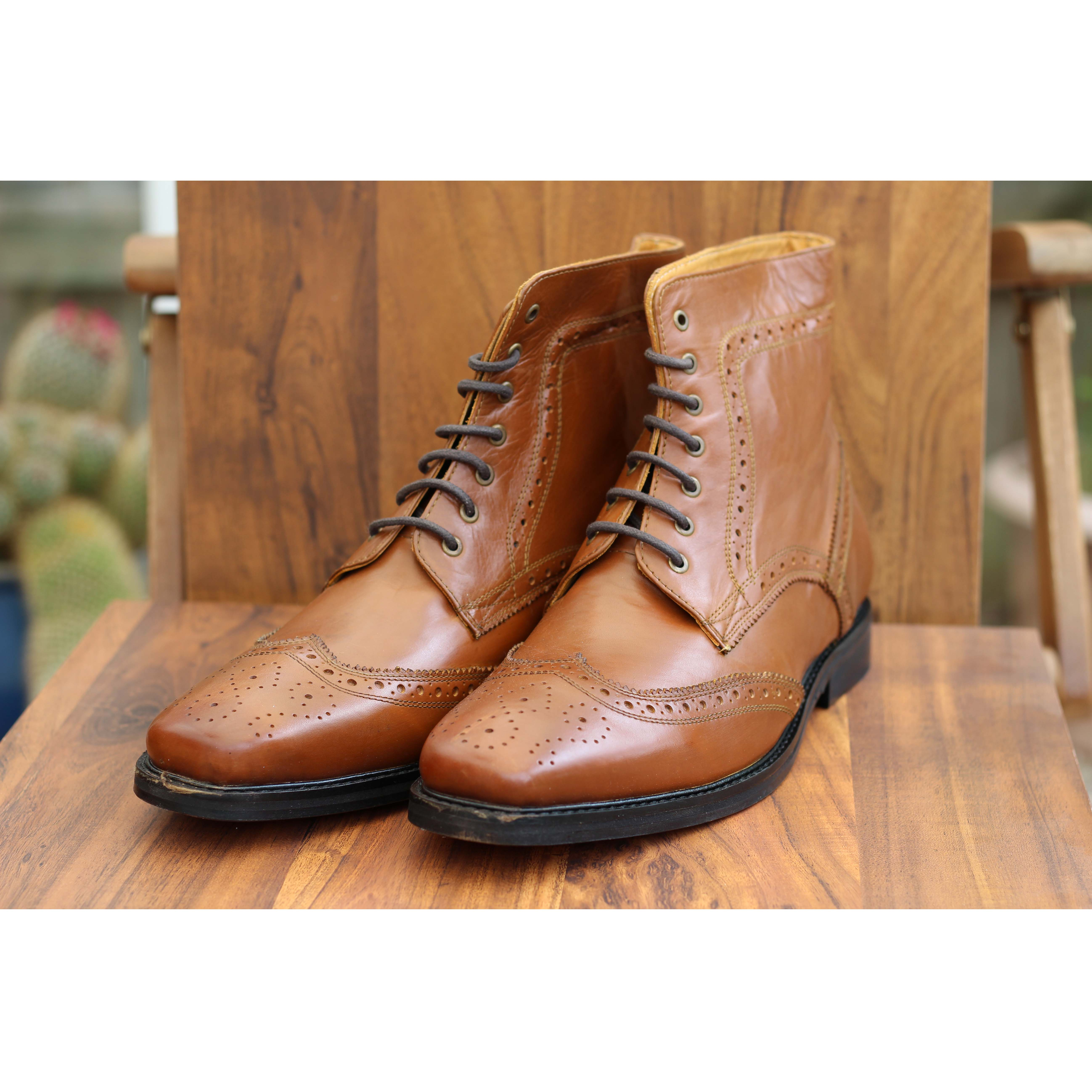 Delicious Junction Landslide Tan Boot Mod Skin Northern Soul
