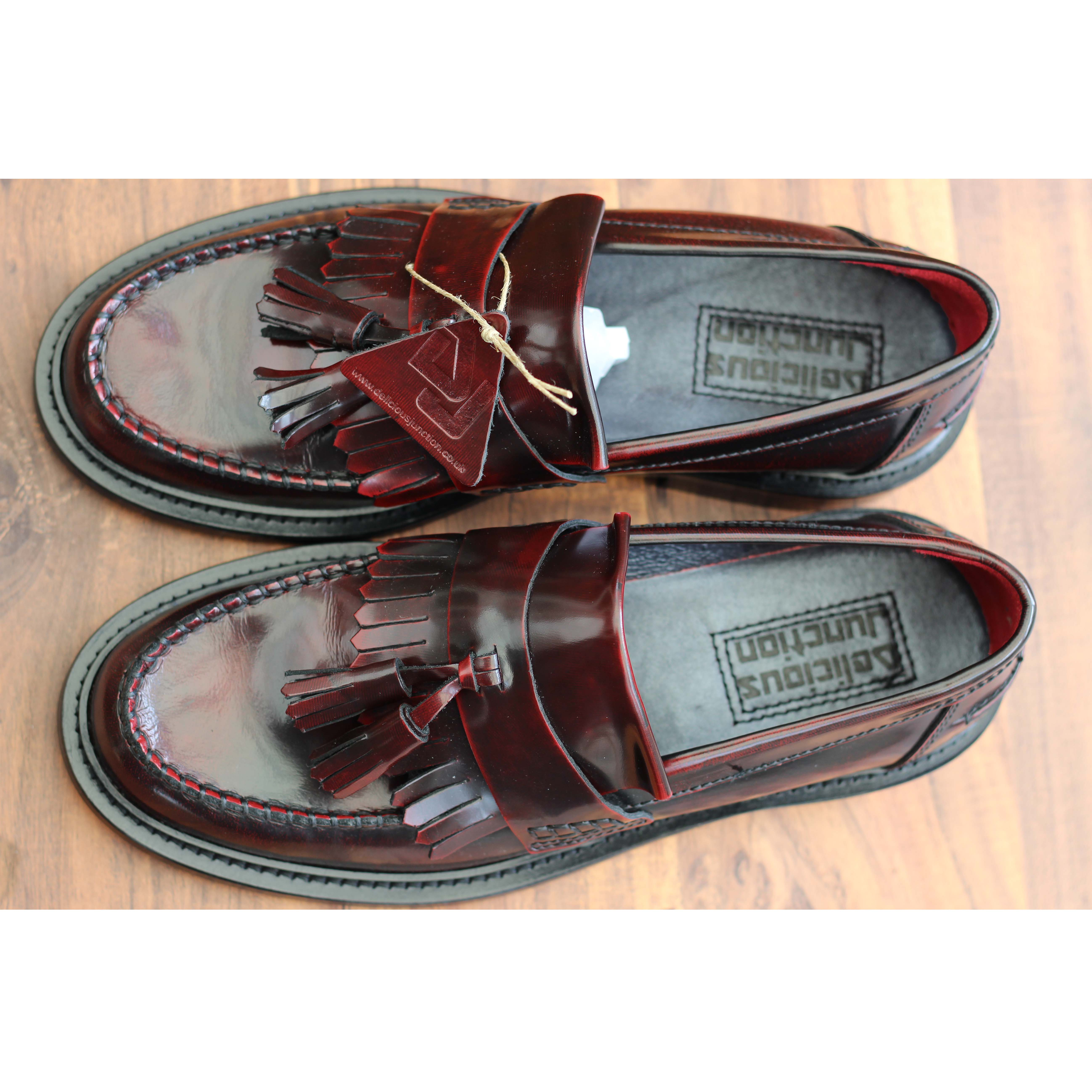 Delicious Junction Rude Boy Oxblood Loafer