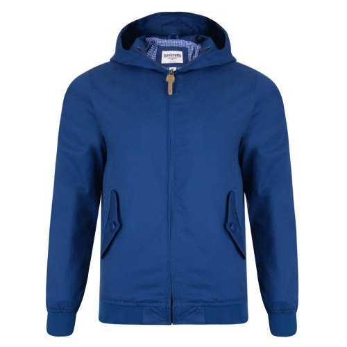 LAMBRETTA PREMIUM HOODED HARRINGTON- ROYAL
