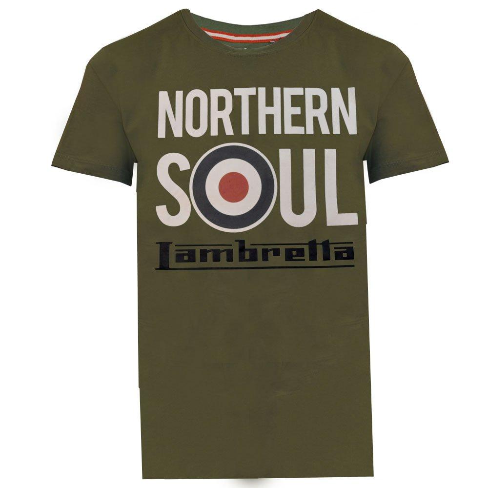 Lambretta Northern Soul Khaki T-shirt
