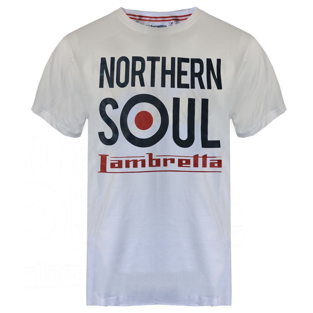 Lambretta Northern Soul White T-shirt