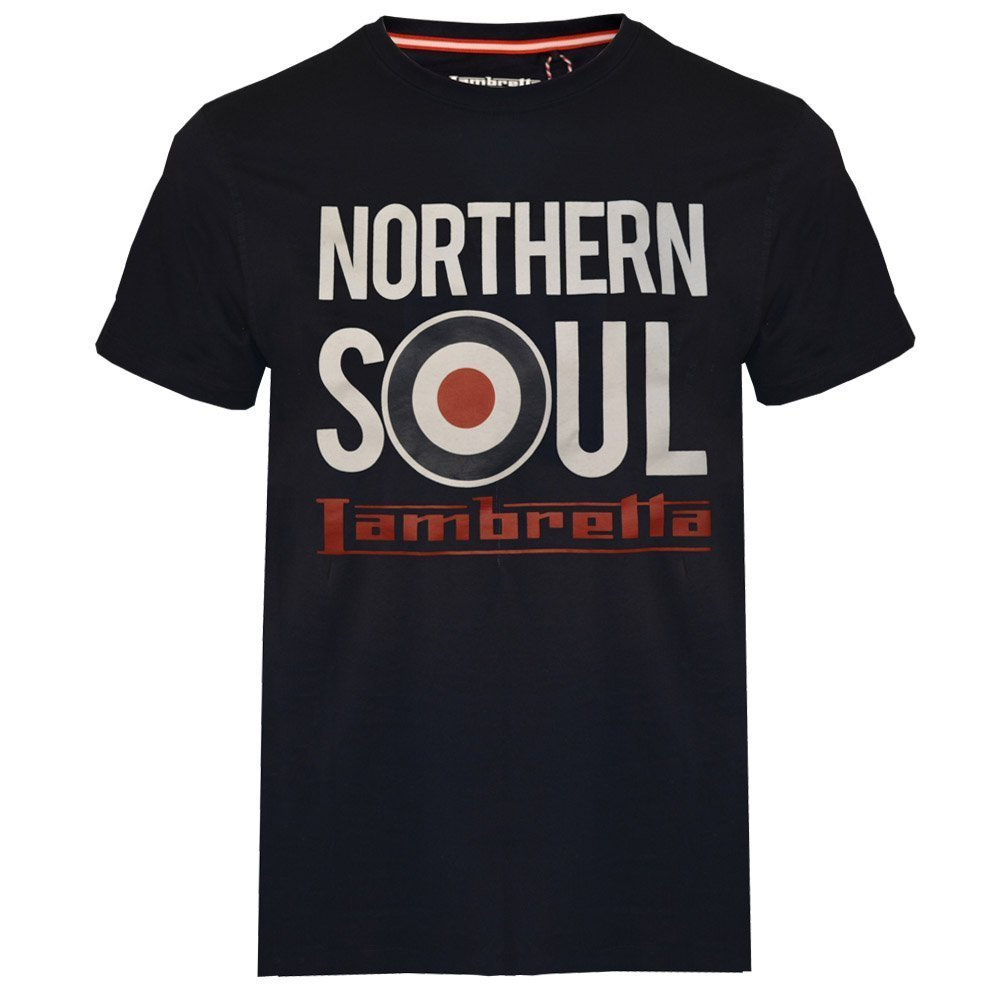 Lambretta Northern Soul Navy T-shirt