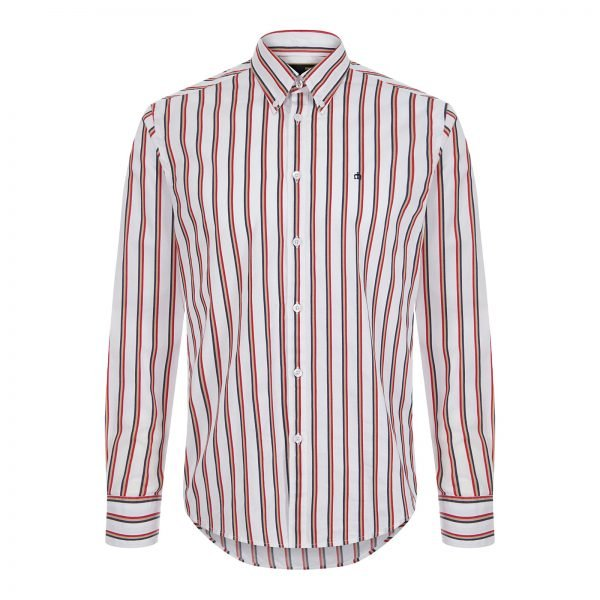 Merc Elsted White Button-down shirt