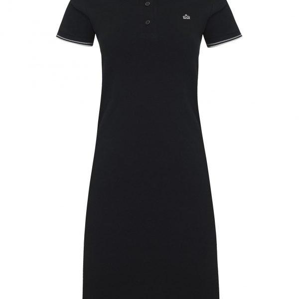 Merc Kara polo dress Black